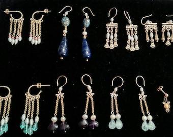 Handmade Custom Roman Style Earrings