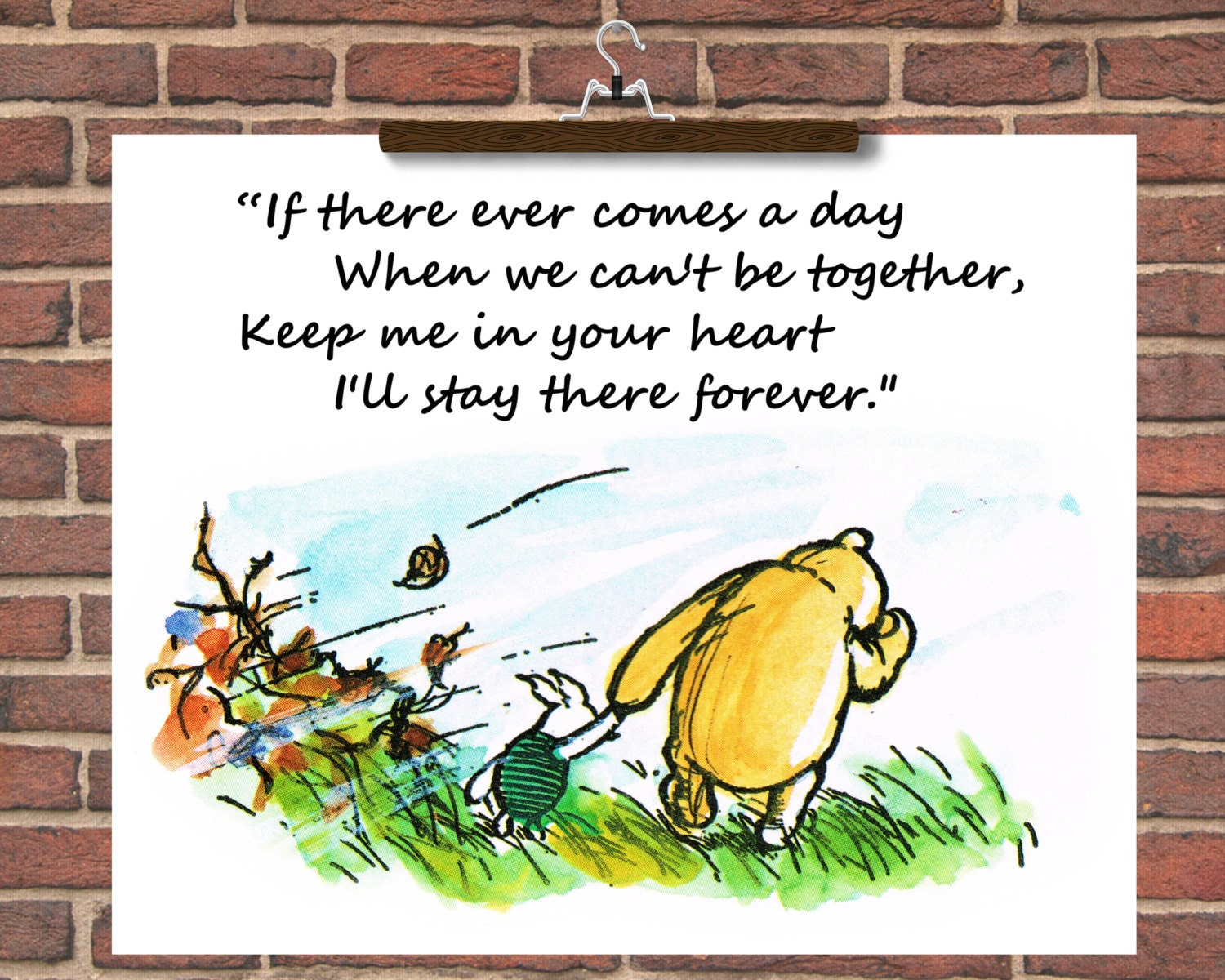 Winnie The Pooh Quotes: Winnie The Pooh Quotes 'If There Ever Comes A Day When We