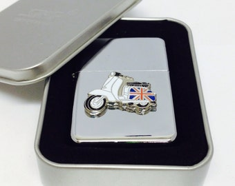 Scooter / Lambretta / MOD Petrol Lighter-Gift Boxed