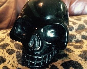 Obsidian Crystal Skull