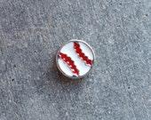 Floating Charm For Glass Memory Lockets- Baseball