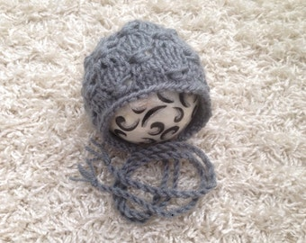Newborn ,0-3,3-6,6-12 month and toddler size round back bonnet