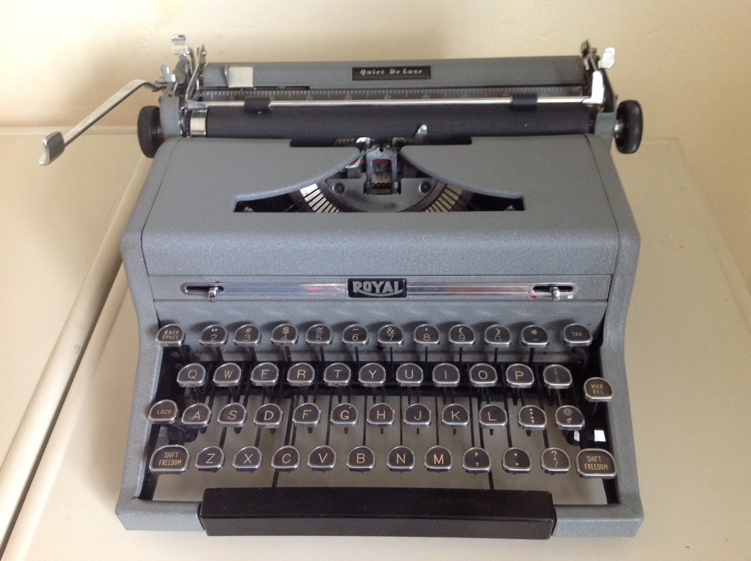 royal quiet deluxe typewriter manual