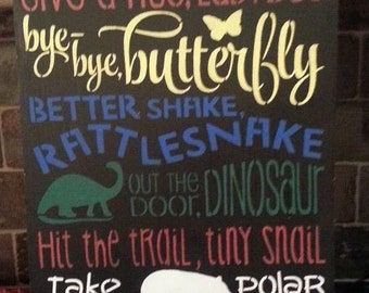 See You Alligator sign