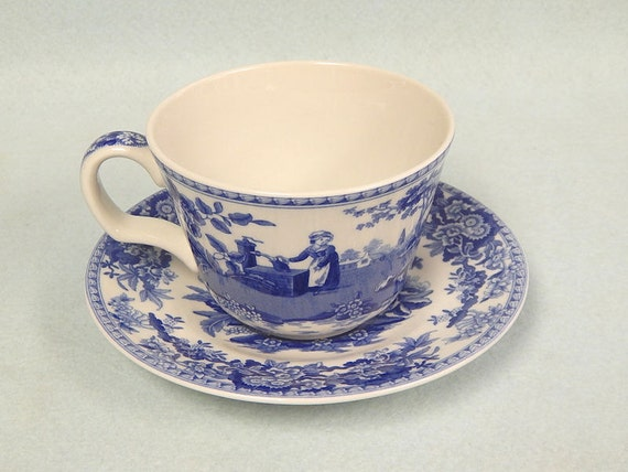 The Spode Blue Room Collection Tea Cup