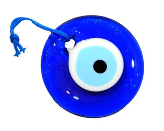 7cm Lucky Evil Eye Nazar Boncuk Turkish / Greek Glass Eye Hanging