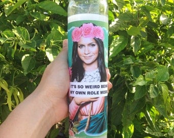 SAINT MINDY Prayer Candle