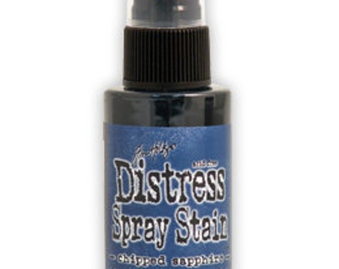 CHIPPED SAPPHIRE Ranger Tim Holtz Distress Spray Stain