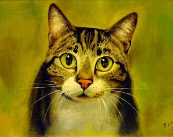 Custom Pet Portrait Painting or Drawing