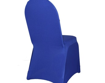 Spandex Banquet Chair Cover Royal Blue | Stretch Chair Covers
