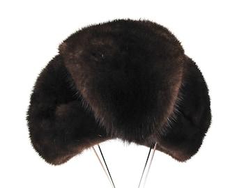 1940s-50s Mink Fur Turban