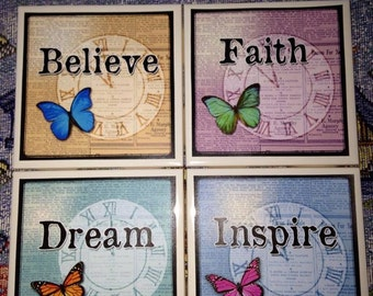 Inspirational Coaster Set of 4