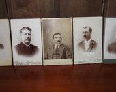 Antique Cabinet Card Photos of Men