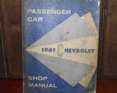 Original 1961 Chevrolet Shop Manual