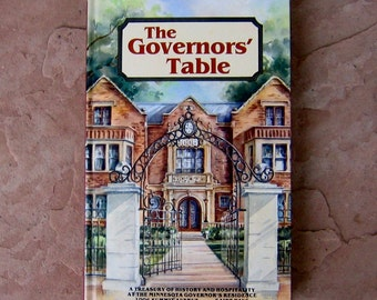 The Governors' Table Cookbook, Minnesota Governor's Cookbook, 1981 Vintage Cook Book