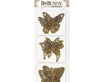 Bo Bunny Laser Cut Chipboard Butterfly