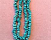 BEAD HEAVEN Natural Sleeping Beauty Turquoise Beads