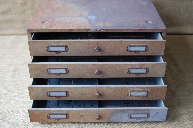 Vintage Jack Coffey Film Cabinet Storage Cabinet Craft