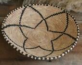 Vintage Coil Basket Southwestern Design