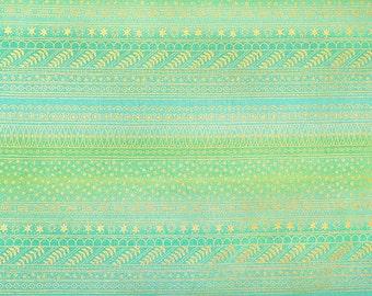 Alexander Henry - Filigree Stripe - #M7818-A - Green
