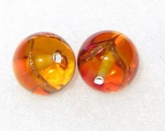 Czech lamp beads