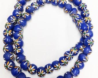 African Art Krobo Glass Beads