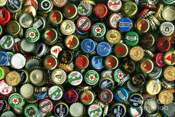 30 pack recycled bottle caps for sale beer caps soda for Soda caps for sale