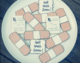 Get Well Decorated Sugar Cookies