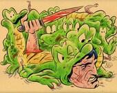 CARTOON APOPALYPSE - Albert Alligator & Tarzan