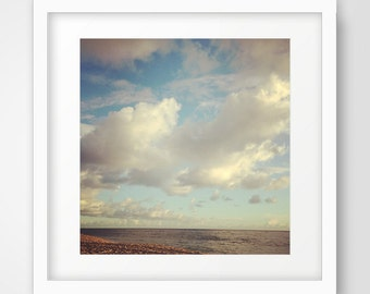 Sky Art, Landscape Photography, Ocean Art, Sea Print, Cloud Photography, Sky Photo, Landscape, Printable Art, Wall Decor, Ocean Art