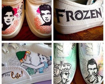 Customizable shoes- with Sharpies