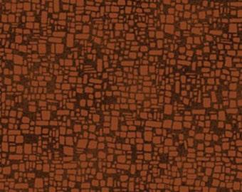 SUPER CLEARANCE!! One Yard Casablanca - Kasbah in Cinnamon - Cotton Quilt Fabric - Benartex Fabrics 1198-88 (W2384)