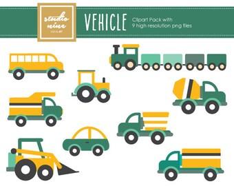 Vehicle Clipart Set