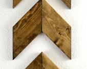 Rustic Wood Arrows Set of 3, Rustic Nursery, Nursery Decor, Woodland Nursery, Gift for Her, Wooden Arrows, Gallery Wall, Rustic Home Decor