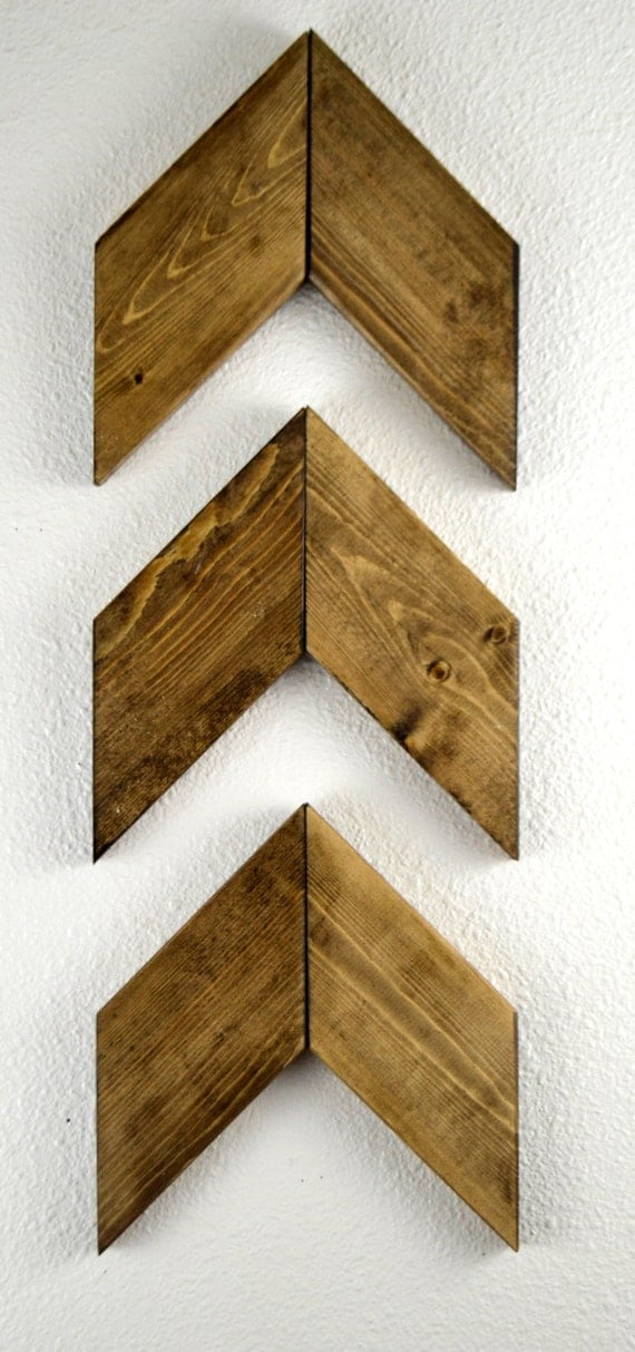 Wall Decor Wooden Arrows : Arrows set of rustic nursery decor woodland