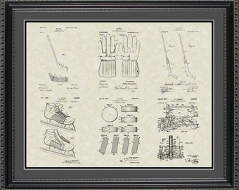 Hockey Patent Collection Player Coach Gift PHCKY2024