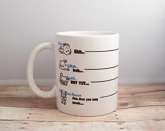 Grumpy Morning Mug - Do not speak Yet