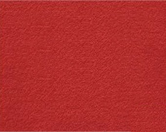 """Red Terry Cloth - 15 Yards x 56-58"""""""