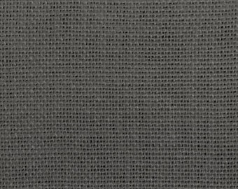 "60"" Inch Charcoal Grey Burlap Roll (5 Yards)"