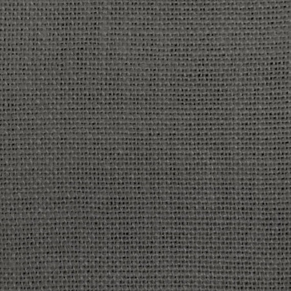 60 Inch Charcoal Grey Burlap By The Yard