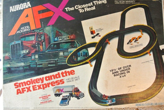Afx car slot vintage