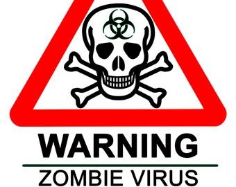 Zombie Virus Warning Signs