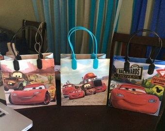 12 Cars Birthday Party Favor Bags!!!
