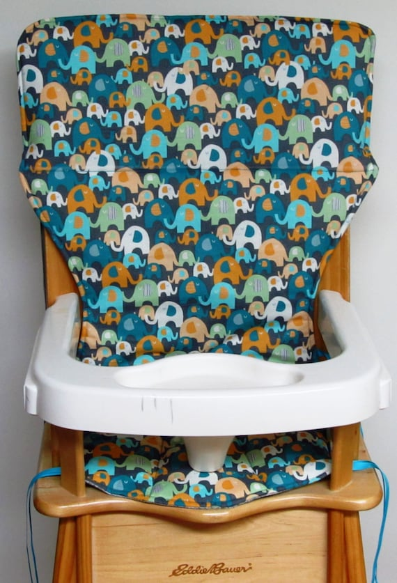 Wooden Eddie Bauer High Chair Pad Chair By Sewingsillysister
