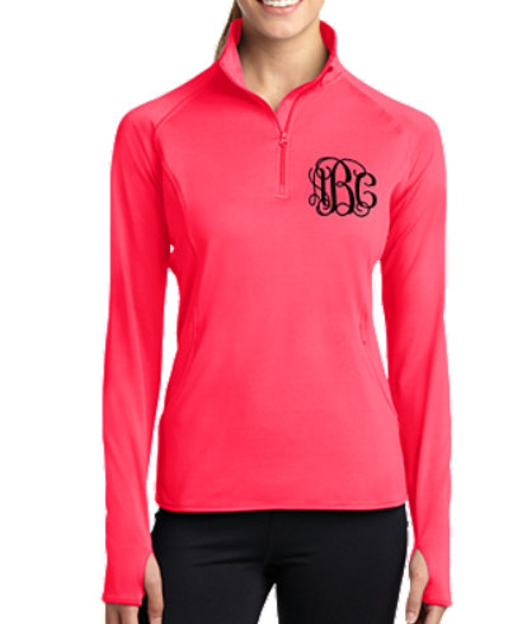 half zip pullover pullover jacket monogrammed by theapplewoodlane