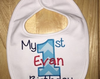 My First Birthday Bib / Cake Smash / Party Bib