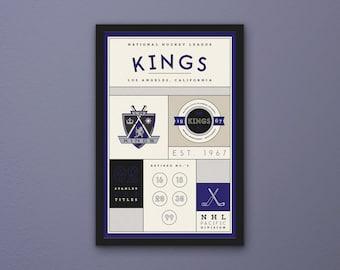 Los Angeles Kings Stats Print