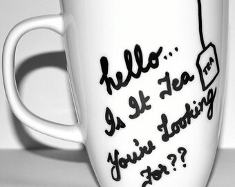 HELLO Is it Tea You Are Looking For - Lionel Richie Coffee Mug - 10 oz
