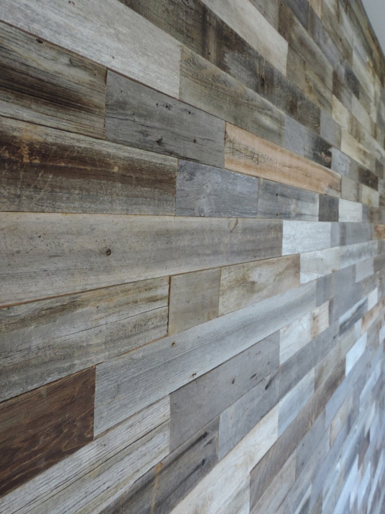 Sample pack reclaimed wood wall paneling sample by abwframes - Reclaimed wood for interior walls ...