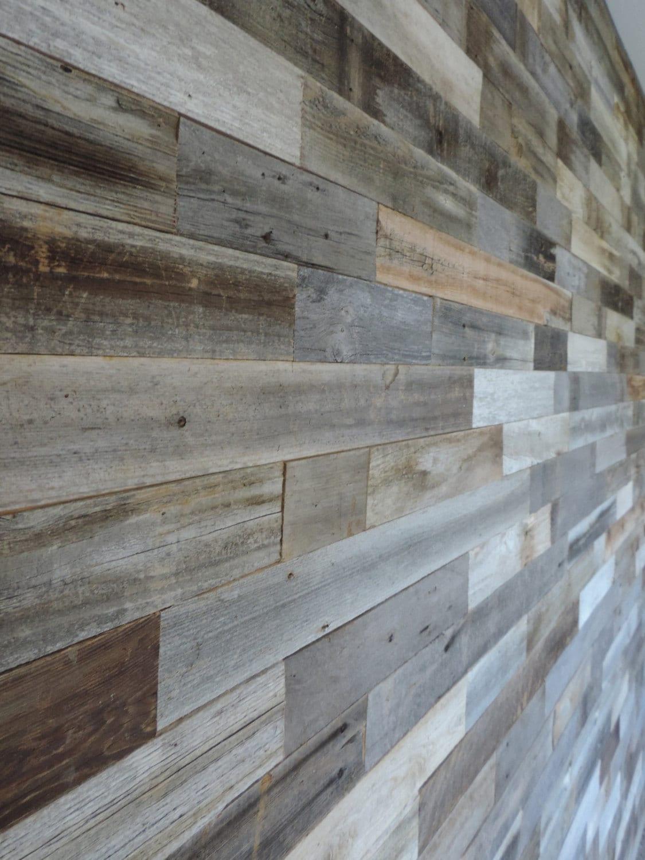 Wood Wall Paneling: SAMPLE PACK Reclaimed Wood Wall Paneling Sample Pack